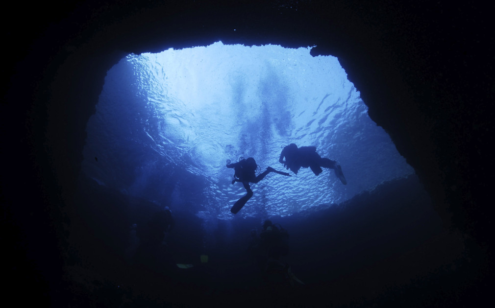 Blue Hole Gozo diving
