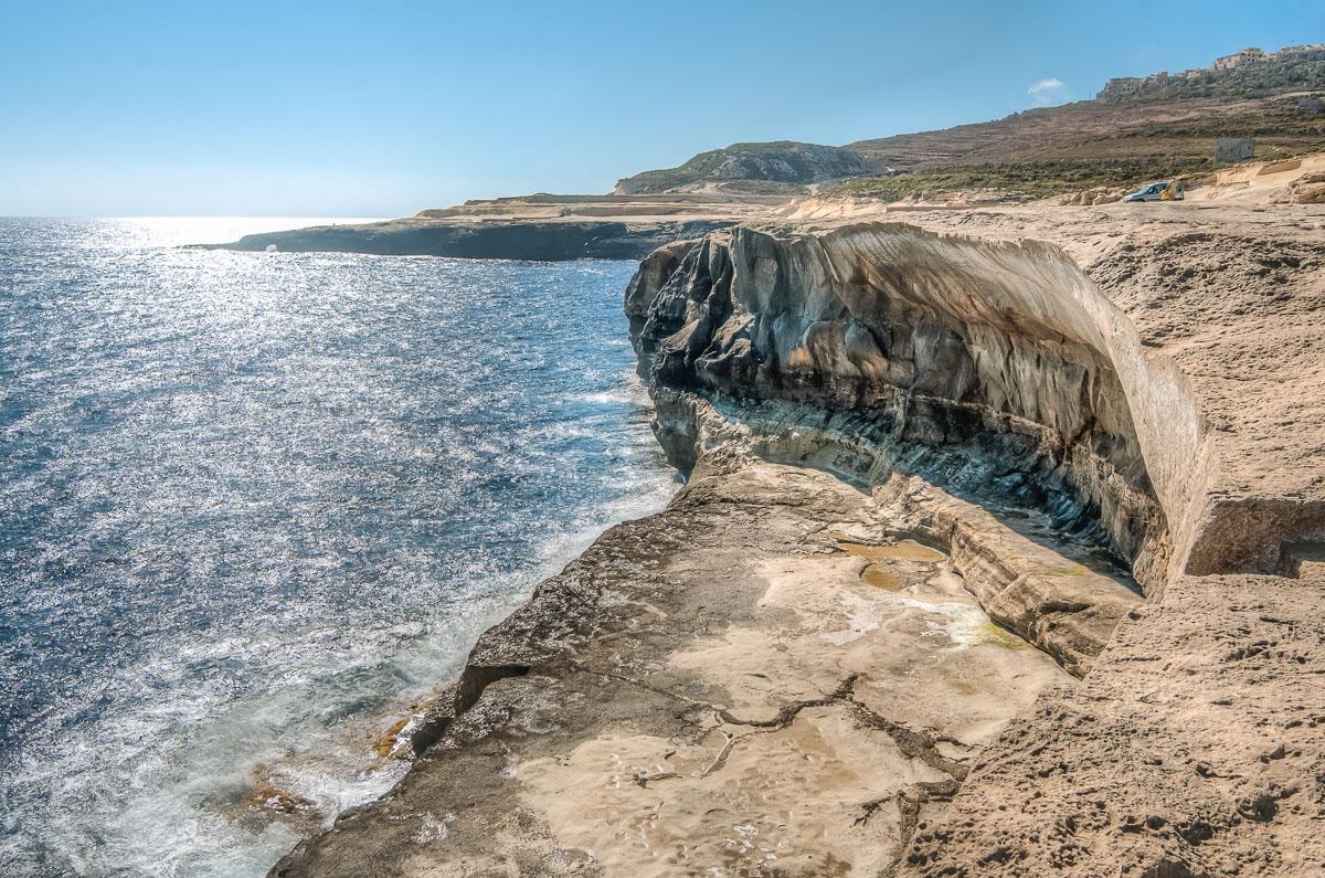 Gozo Cliffs Sun